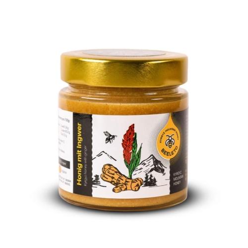 Roher Honig mit Ingwer