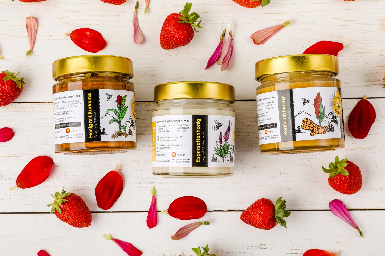 Roher Honig Gesund und Lecker